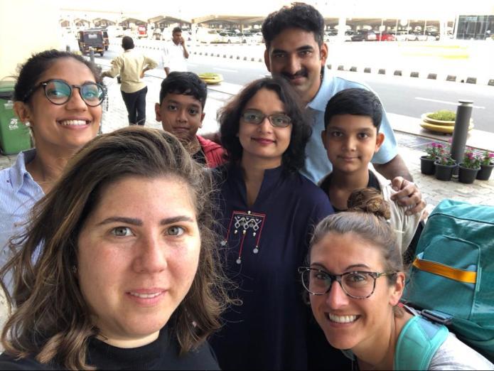 Arrive in Cohin (Kochi)