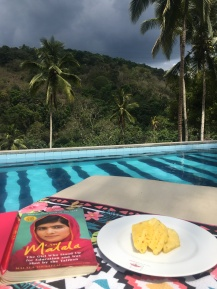 Pineapple and Malala...pretty perfect day