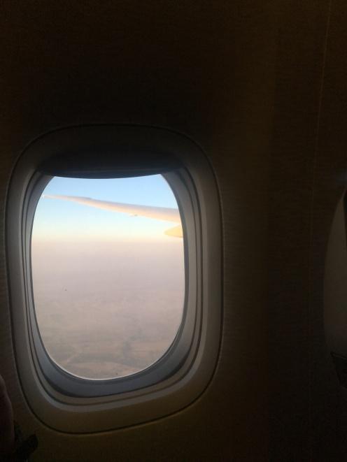 Landing in Karachi, Pakistan