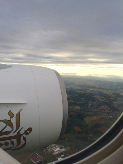 Flying over Leon on my way to Iceland